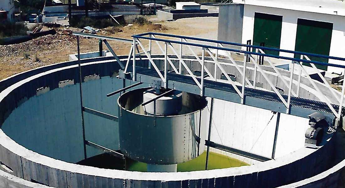 Necessary additional reengineering works of the sewage treatment plant of the municipality of Aliveri – Evia