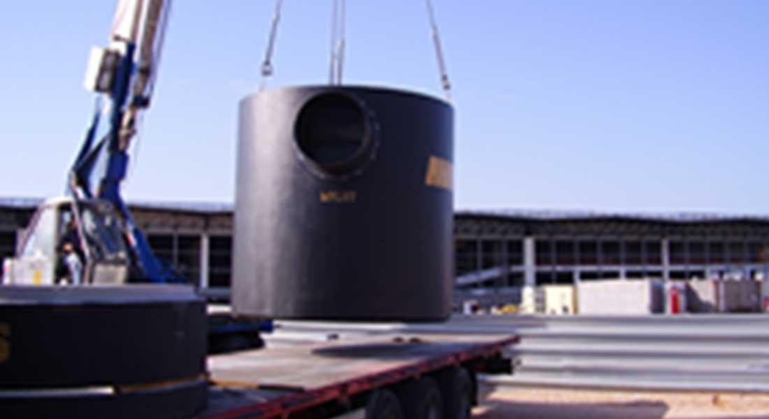 Σύστημα επεξεργασίας ομβρίων υδάτων πίστας αεροδρομίου και βοηθητικών εγκαταστάσεων στον Διεθνή Αερολιμένα Αθηνών