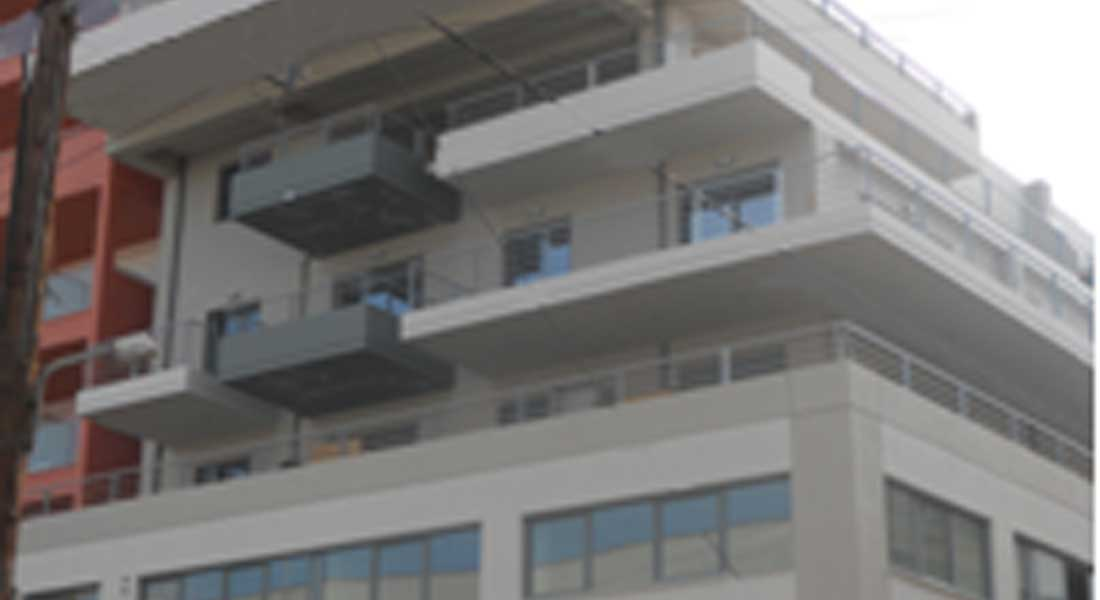 Six storey commercial residence bulding in Chalkis